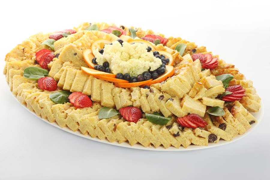 Noodle Kugel Platter